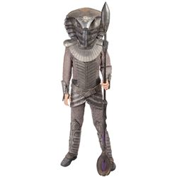 COMPLETE SCREEN-USED JAFFA COSTUME WITH WORKING SERPENT HELMET FROM STARGATE SG-1