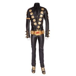 Michael Jackson BAD costume presented by Michael Jackson to the Guinness World Records Museum