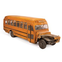 SPECIAL EFFECTS SCHOOL BUS FROM SUPERMAN: THE MOVIE