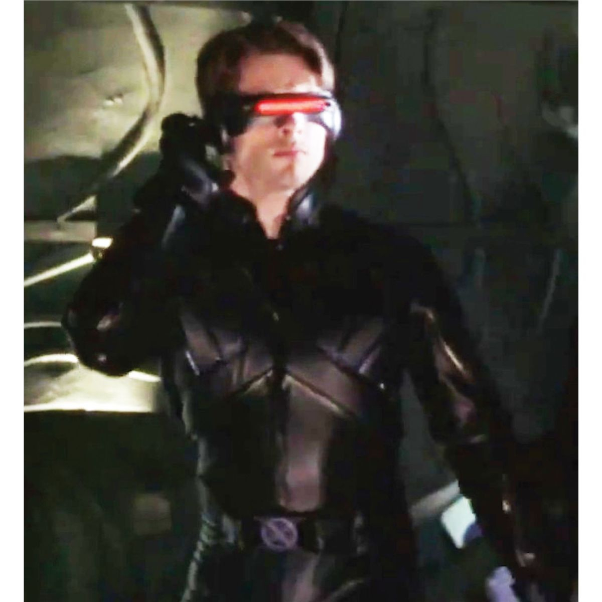 """445e1aaae7 ... Image 3   JAMES MARSDEN HERO """"CYCLOPS"""" BLACK LEATHER BATTLESUIT FROM  XMEN"""