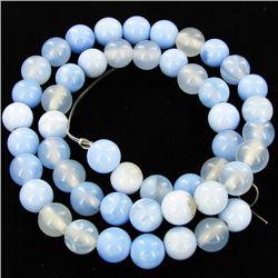 "165twc Blue Lace Agate Small Bead Strand 16"" (JEW-3000)"