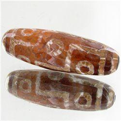 115ct Large Tibet Dzi Agate Bead (GEM-49668)