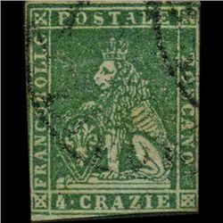 1851 Tuscany 4g Stamp (STM-0921)
