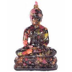 550ct. Sapphire Buddha Hunker Down Figure Statue (GEM-3613A)