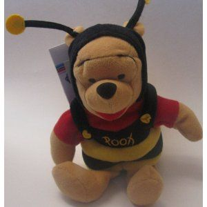 Excellent Disney Bean Bag Plush Pooh As Bumble Bee Forskolin Free Trial Chair Design Images Forskolin Free Trialorg