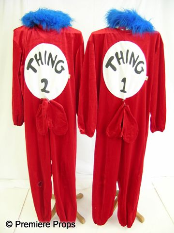 Thing 1 Thing 2 Mascots From Cat In The Hat