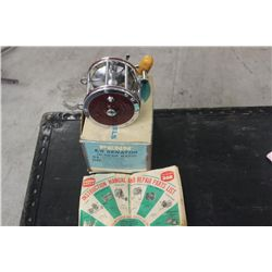 LARGE PENN REEL 6/O SENATOR HI- GEAR RATIO 114H NEW IN BOX DATED 1976