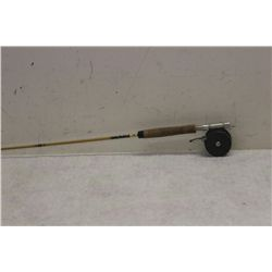 SOUTH BEND FIBER GLASS FLY POLE AND REEL