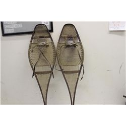 EARLY PAIR SNOW SHOES