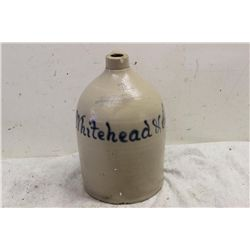 2 GALLON ADVERTISING JUG LYONS