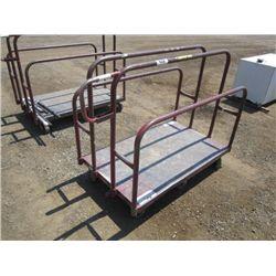 Lumber Cart, 6 Wheel