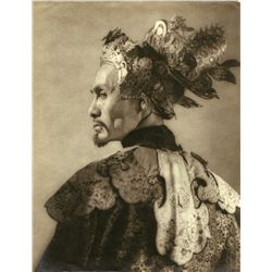 PORTRAITS OF SOJIN KAMIYAMA FROM THE THIEF OF BAGDAD BY WILLIAM MORTENSEN
