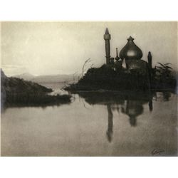 ART STUDY FROM RUBAIYAT OF OMAR KHAYYAM BY WILLIAM MORTENSEN