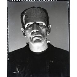 COLLECTION OF HORROR FILM CAMERA NEGATIVES OF BORIS KARLOFF AND BELA LUGOSI