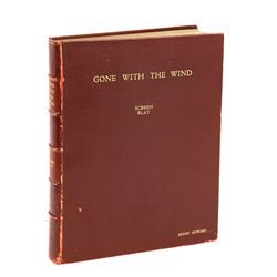 DAVID O. SELZNICK'S GONE WITH THE WIND PRESENTATION SCRIPT FOR SCREENWRITER SIDNEY HOWARD