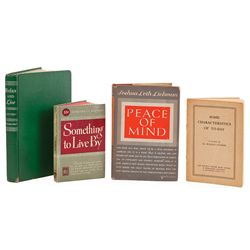 COLLECTION OF (4) SELF-HELP BOOKS FROM THE PROPERTY OF MARILYN MONROE