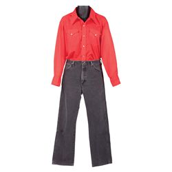 "ELVIS PRESLEY ""JOE LIGHTCLOUD"" SCREEN-WORN COSTUME FROM STAY AWAY JOE COSTUME"