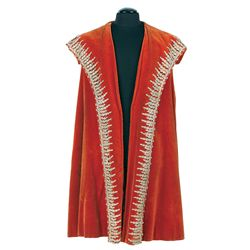 SCREEN-WORN RICHARD BURTON ROYAL CAPE AND HAT FROM ANNE OF THE THOUSAND DAYS