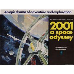 2001: A SPACE ODYSSEY ORIGINAL U.K. QUAD POSTER