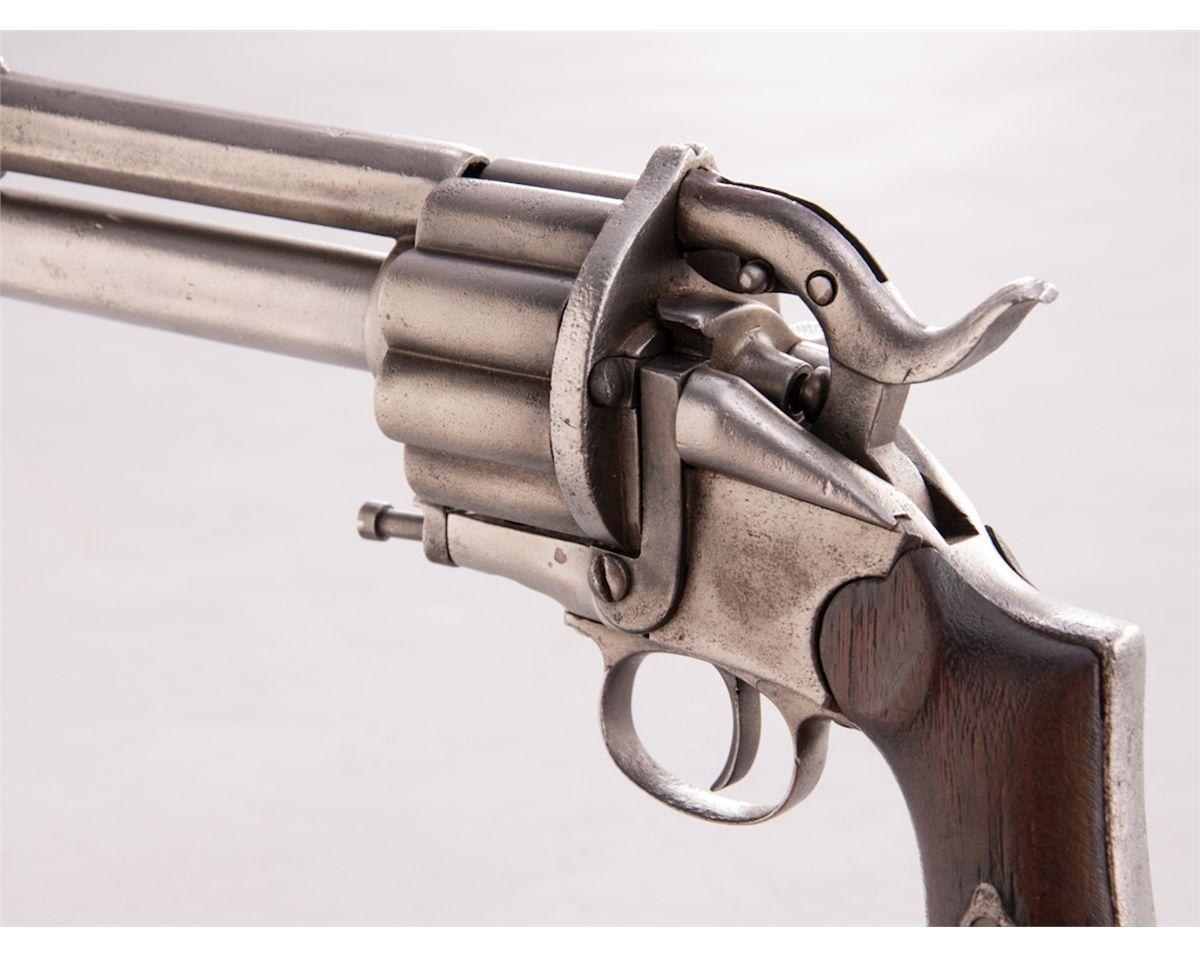 Post-Civil War LeMat Centerfire Breechloading Revolver