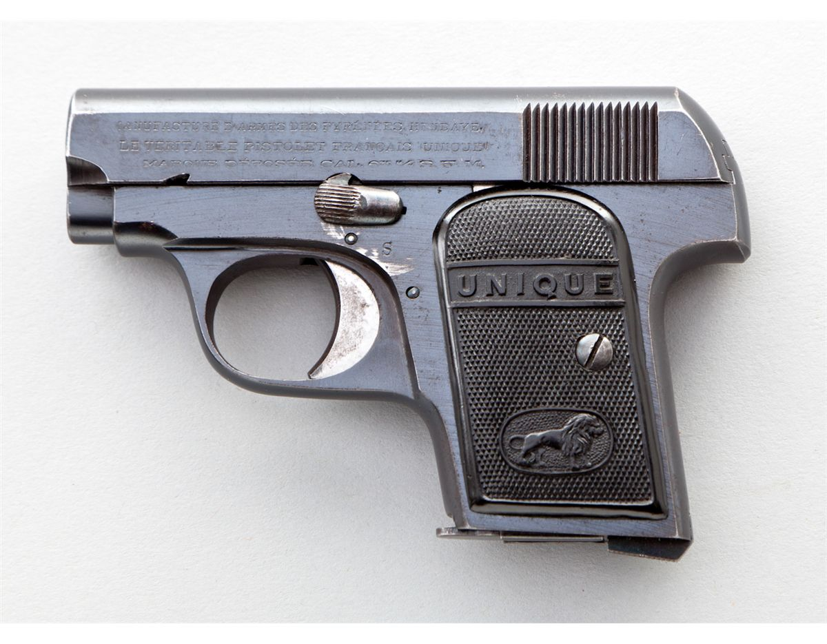 French Pyreness Unique Model 10 Semi-Automatic Pistol