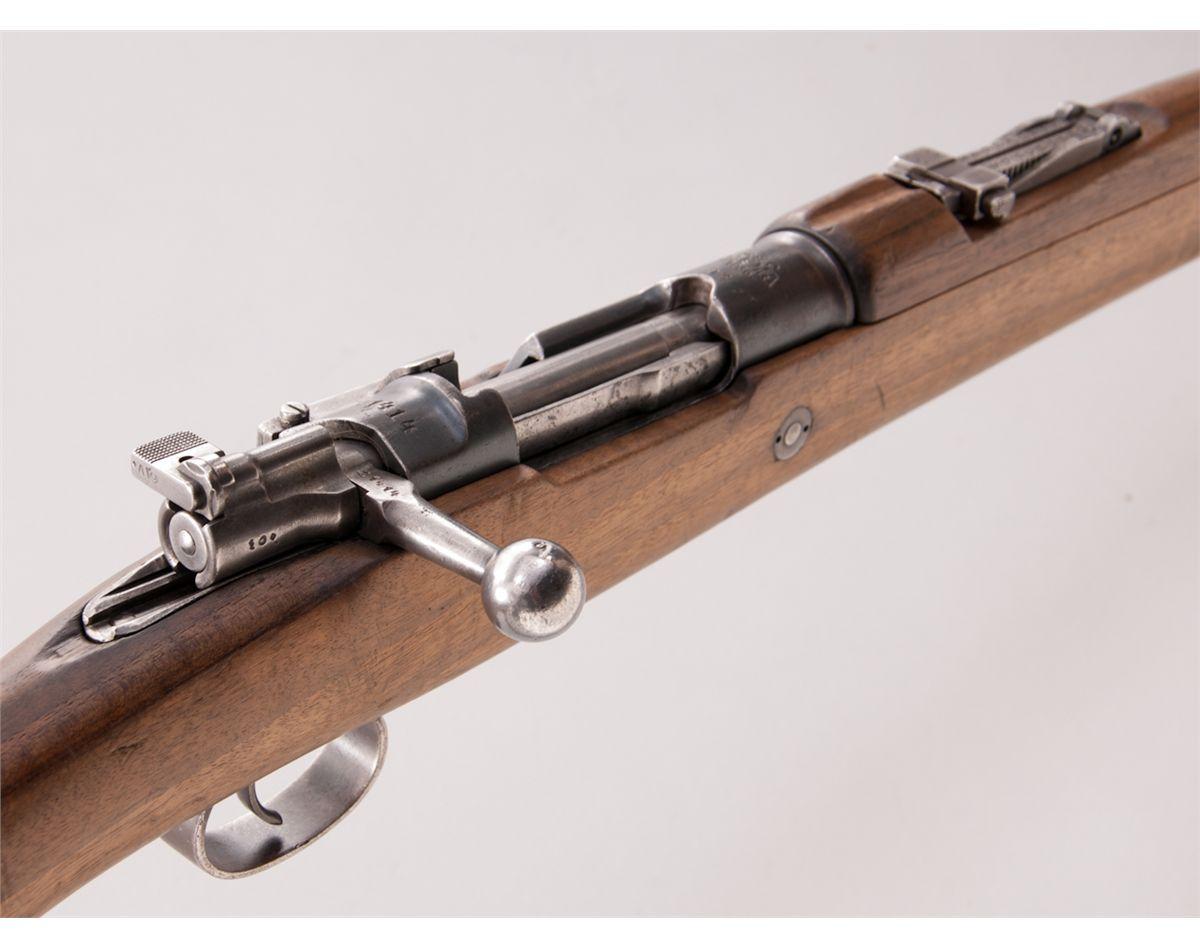 Turkish Model 1893 Bolt Action Rifle
