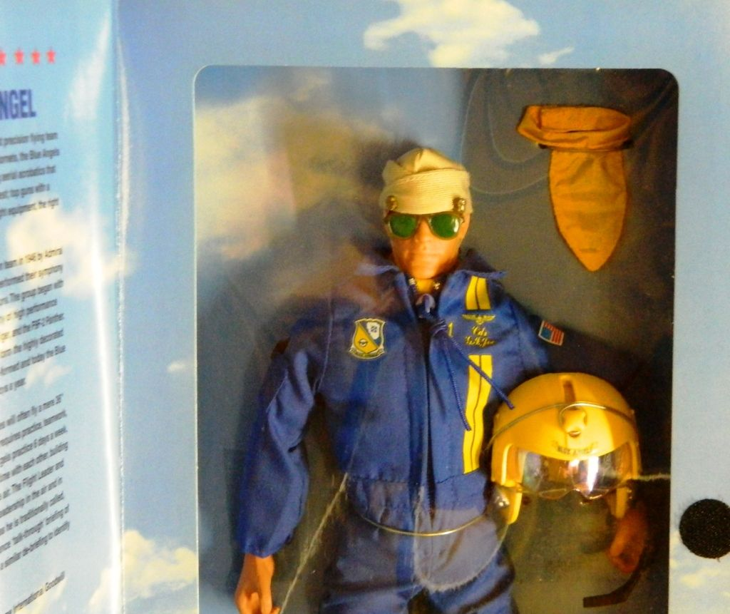 G I  Joe U S  Navy Blue Angel Classic Collection 1/6 Scale 12