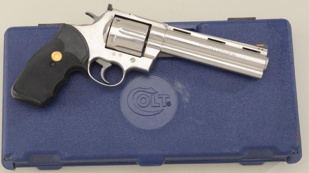 Colt Anaconda Model DA revolver,  44 Magnum cal , 6