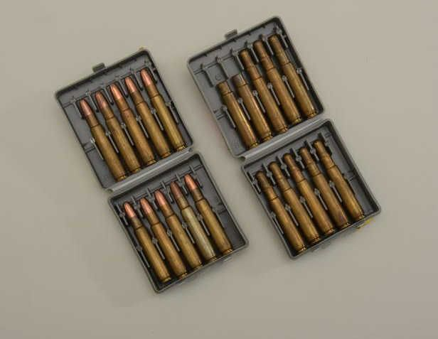 Eighteen rounds of  416 Rigby 400 grain, 2400FPS ammo