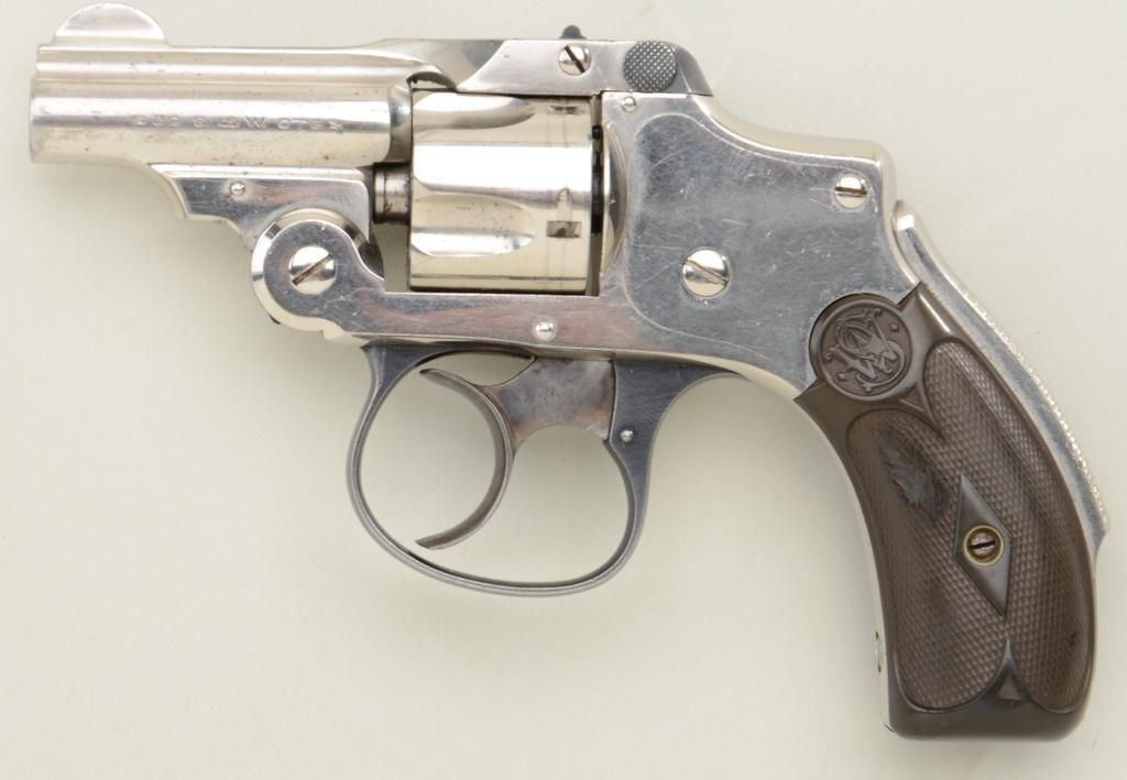 Smith & Wesson Safety Hammerless Bicycle Model DA revolver