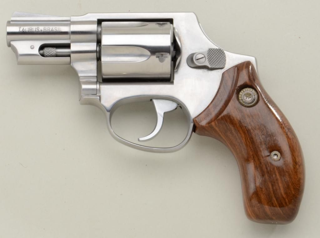 "Taurus DA revolver,  38 Special, 2"" barrel, stainless steel, smooth"