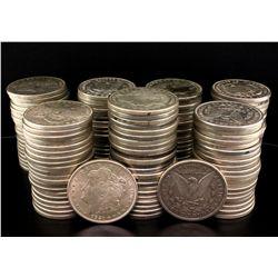 COINS: (145) 1921 Morgan silver dollars