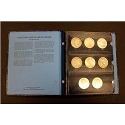 COINS: (1) 1921-1935 Peace Dollar set