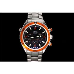 WATCH: Men's  Omega SeaMaster Professional Plant Ocean chronograph wristwatch