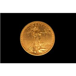 COIN:1914 US Twenty Dollar Gold Coin