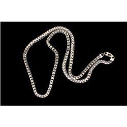 CHAIN: 14KWG Franco style chain