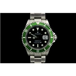 ROLEX: Men's  Rolex O.P. Submariner Date wristwatch