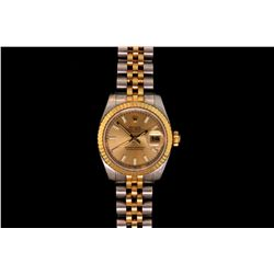 ROLEX: Lady's Rolex O.P. Datejust wristwatch