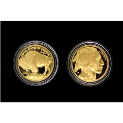 CURRENCY: (2) American Buffalo Gold Proof Coins