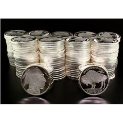 PRECIOUS METALS:(200) 1 oz. Silver Buffalo Rounds