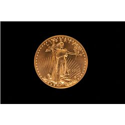BULLION: 1998 US Eagle 50 dollar gold coin