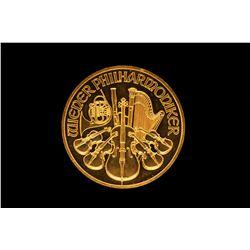BULLION: 2008 Austria Vienna Philharmonic 100 Euro gold coin
