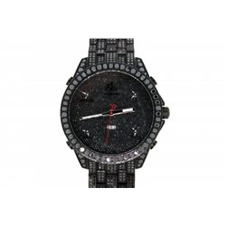 WATCH: Large black PVD  Jacob and Co Five Time Zone wristwatch