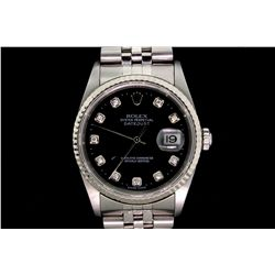 ROLEX: Men's  Rolex O.P. Datejust wristwatch