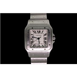 WATCH: Men's  Cartier Santos Galbee XL wristwatch