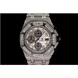 WATCH: Stainless steel gents Audemars Piguet Royal Oak Offshore Chronograph automatic watch