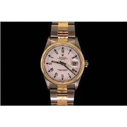 ROLEX: Men's  Rolex O.P. Date wristwatch