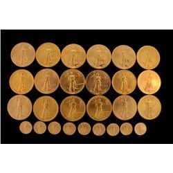 PRECIOUS METALS: (27) American Gold Eagle coins