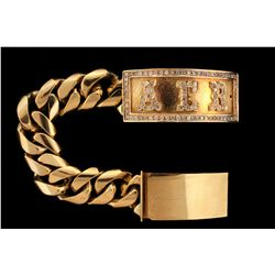 BRACELET: 12KYG ID bracelet