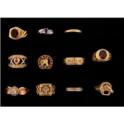 RING: Lot 10KYG and 14KYG rings